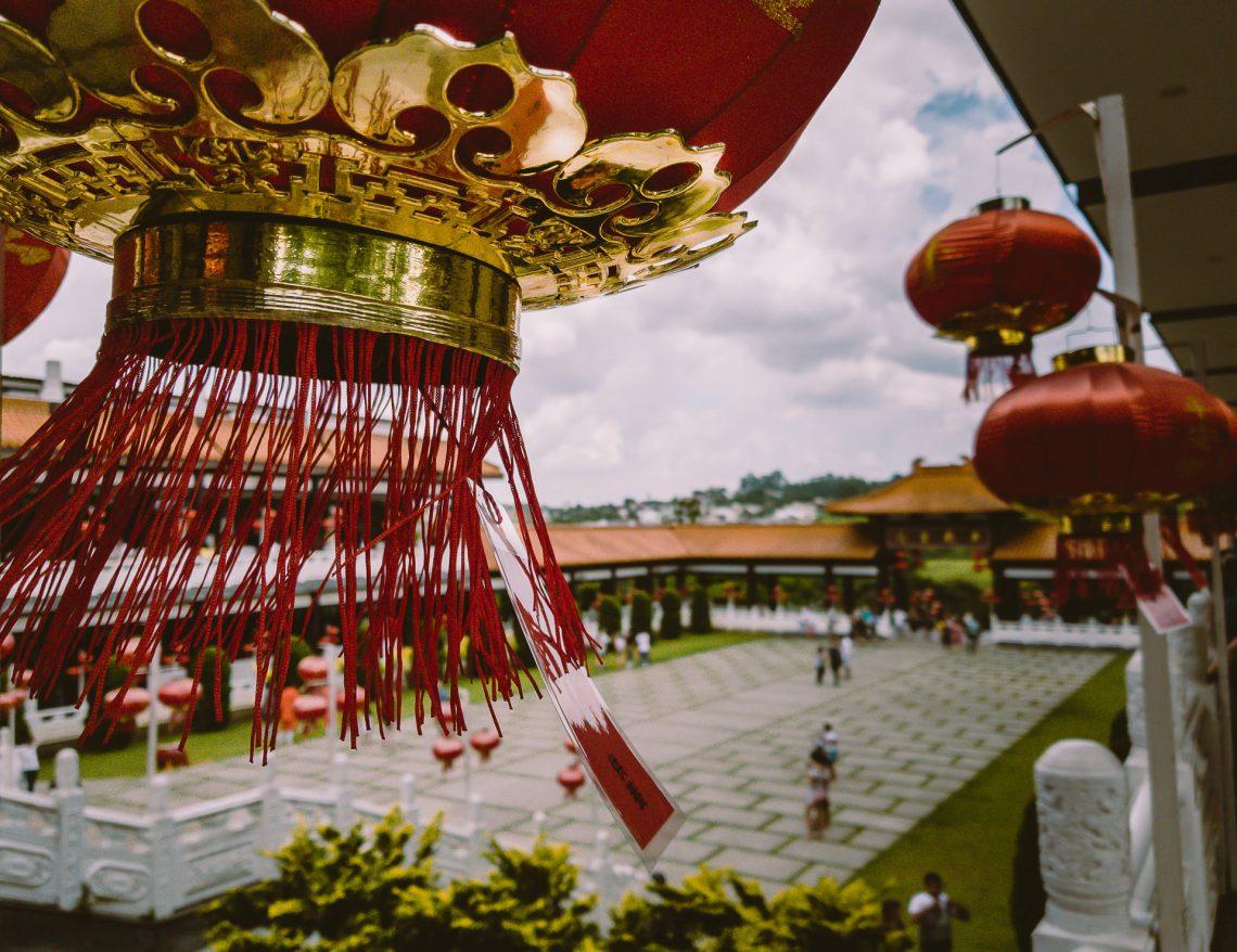 Fotografia no Templo Budista Zu Lai