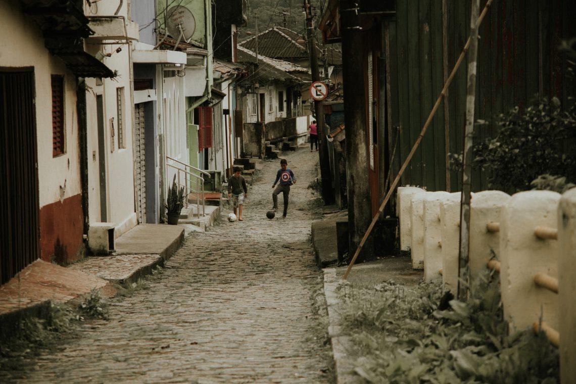Fotografia na Vila de Paranapiacaba